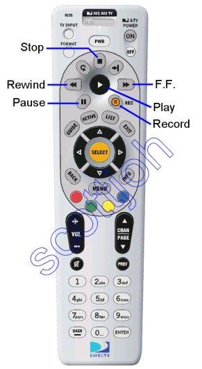 wireless tascam rc 71 remote adapter rh teacremotes com Direct TV Remote RC 71 Manual Direct TV Remote User Manual Samsung